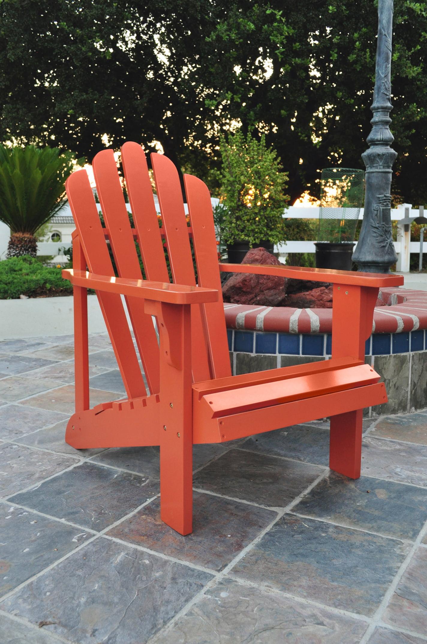 Shine Company Westport Adirondack Chair Rust by Shine Company