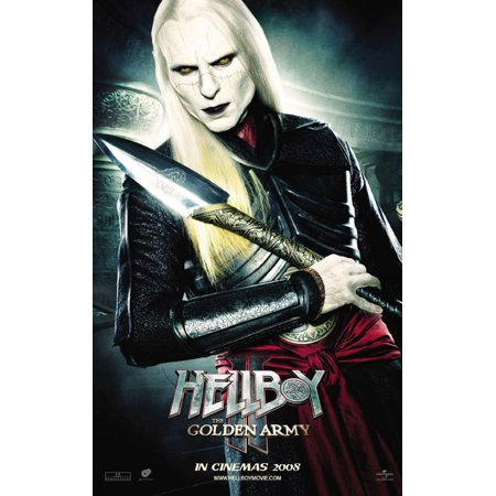 Hellboy 2  The Golden Army  2008  11X17 Movie Poster