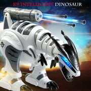 LE NENG TOYS K9 Intelligent Dinosaur Fighting Robot Programmable Touch-sense Music Dance Toy for Kids