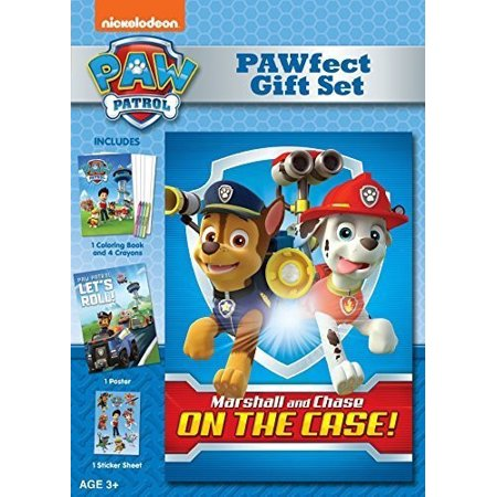 Newborn Gift Set Case - Paw Patrol: Marshall And Chase On The Case - Pawfect Gift Set