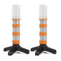3 In 1 Road Warning Beacon LED Emergency Roadside Flares Safety Strobe Lights