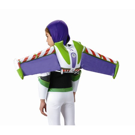 Buzz Lightyear Halloween Costume Homemade (Buzz Lightyear Child Size Inflatable Jetpack)
