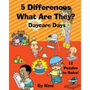 5 Differences - What Are They? Daycare Days