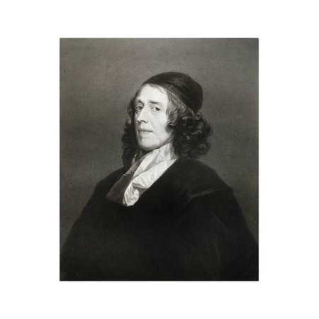 - John Owen, English Theologian, 17th Century Print Wall Art By Robert Walker