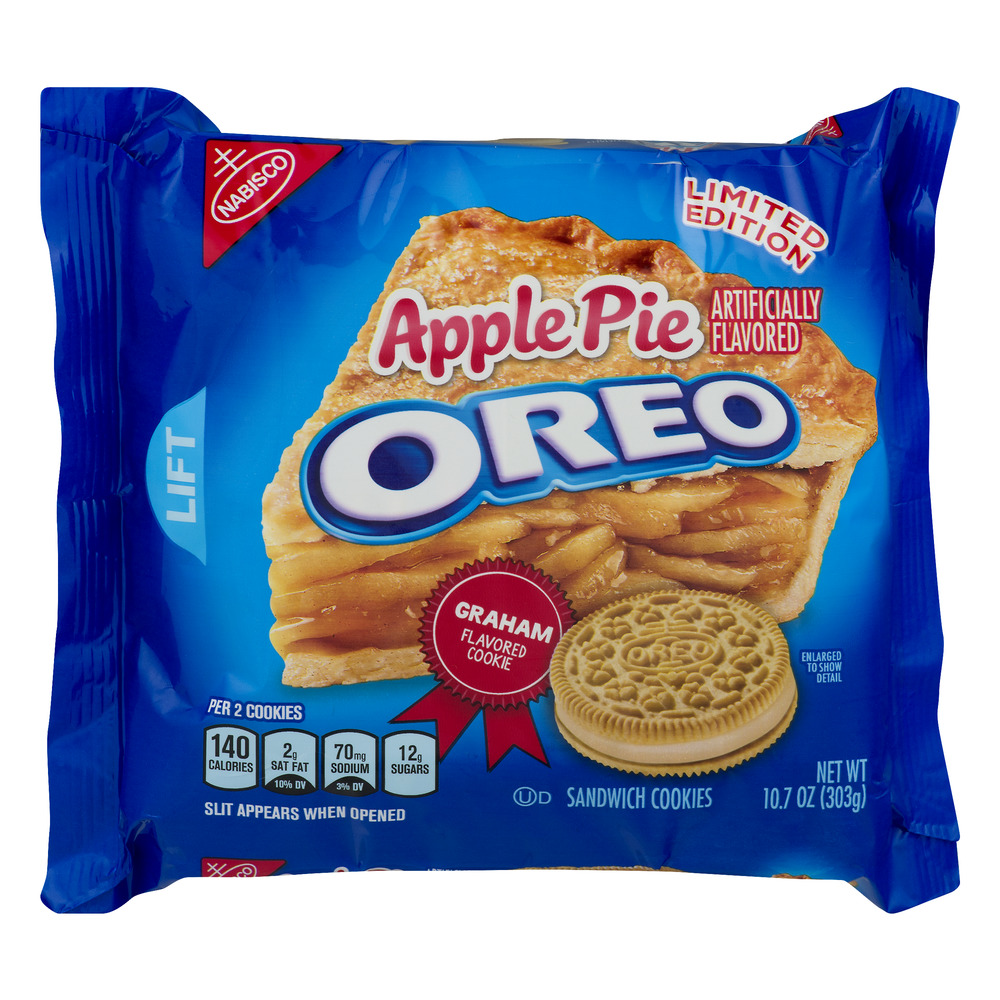 Oreo Apple Pie Sandwich Cookies, 10.7 Oz.