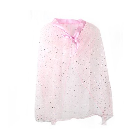 Pretend Play Dress Up Mozlly Pink Princess Twinkle Star Costume Cape - Make Costumes