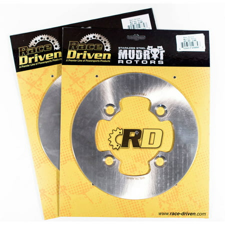 2012 2013 Polaris RZR XP 4 900 Rear MudRat Brake Rotors Discs