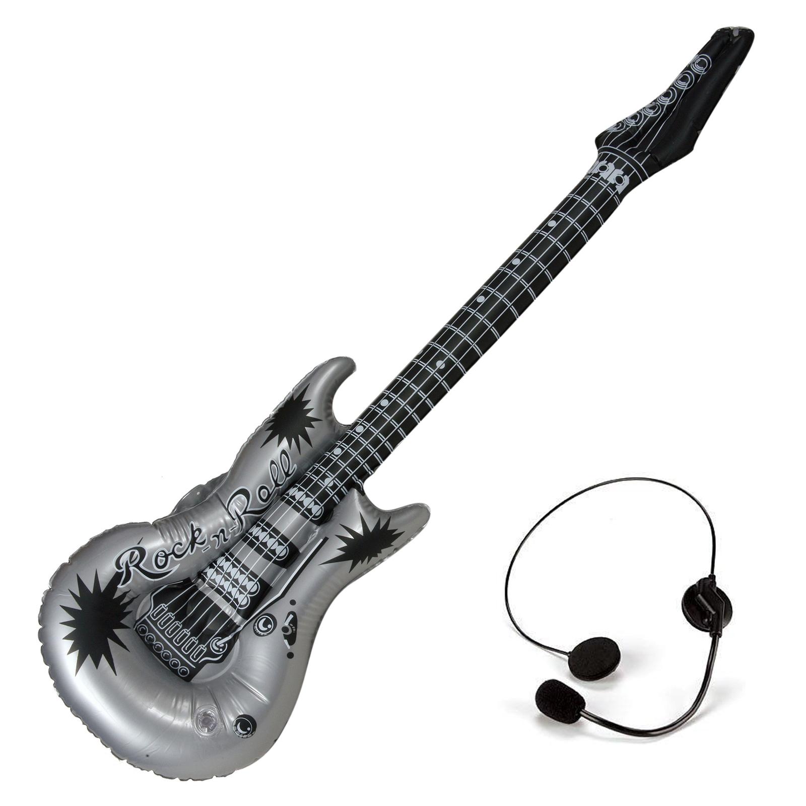 Guitar, Microphone Bundle Set