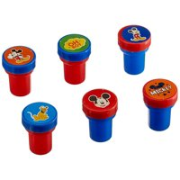 6-Piece Mickey Mouse Stamper Set