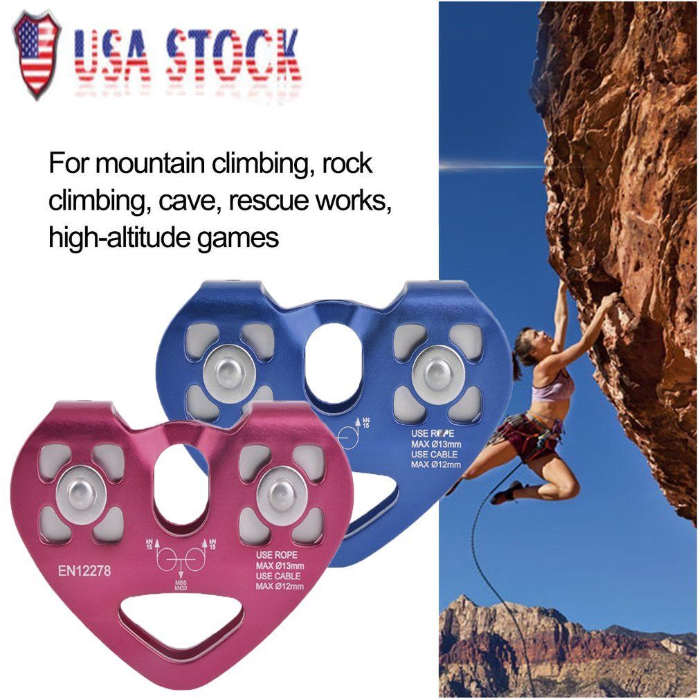 Outdoor Rock Climbing Zip Line Cable Rope Trolley Zipline Fast Speed Pulley Rock Climbing