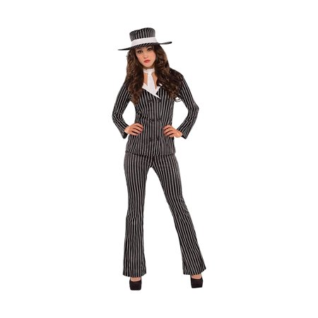 AMSCAN Mob Wife Halloween Costume for Women, Large, with Included Accessories - Mob Wife Halloween Costume
