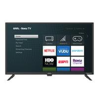 """onn. 32"""" Class 720P HD LED Roku Smart TV HDR"""