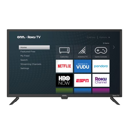 "onn. 32"" Class 720P HD LED Roku Smart TV (100012589)"