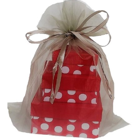 X Large Organza Bags 5 Silver 12 14 Inch
