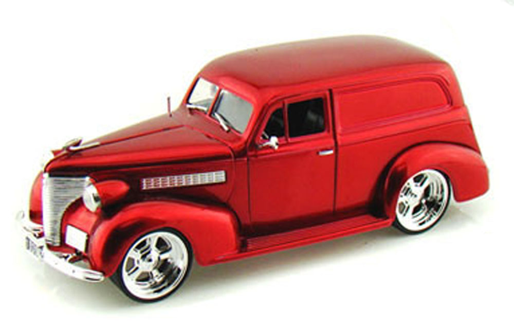 1939 Chevy Sedan Delivery, Red Jada Toys Bigtime Kustoms 96366 1 24 scale Diecast Model... by Jada