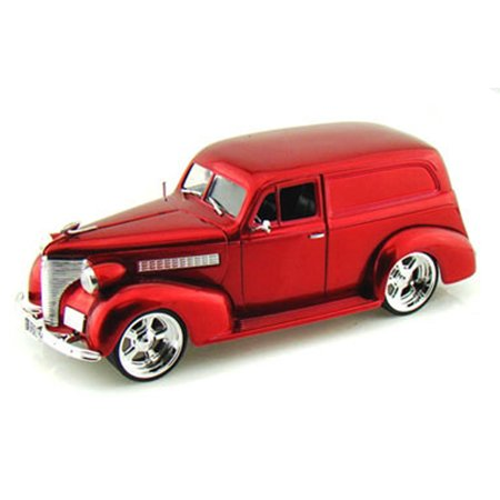 - 1939 Chevy Sedan Delivery, Red - Jada Toys Bigtime Kustoms 96366 - 1/24 scale Diecast Model Toy Car (Brand New, but NOT IN BOX)
