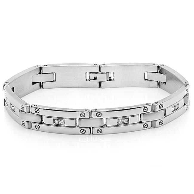 Stainless Steel Ip Bracelet, Silver