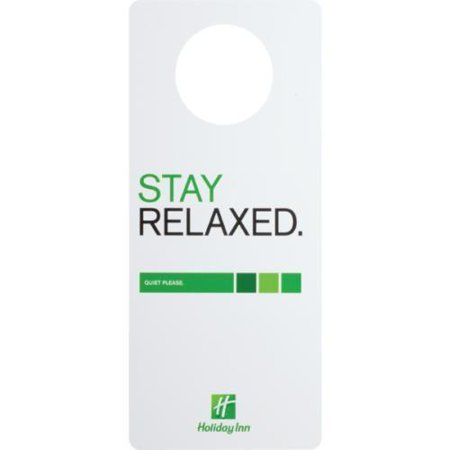 No 757864 Holiday Inn Do Not Disturb Door Hanger Package Of 100