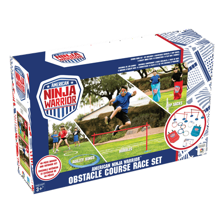 American Ninja Warrior Obstacle Course -