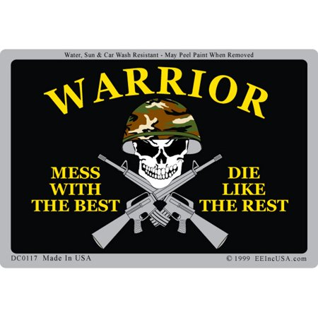 U.S. Army Mess With The Best Die Like The Rest Sticker (Mess With The Best Die Like The Rest Wallpaper)