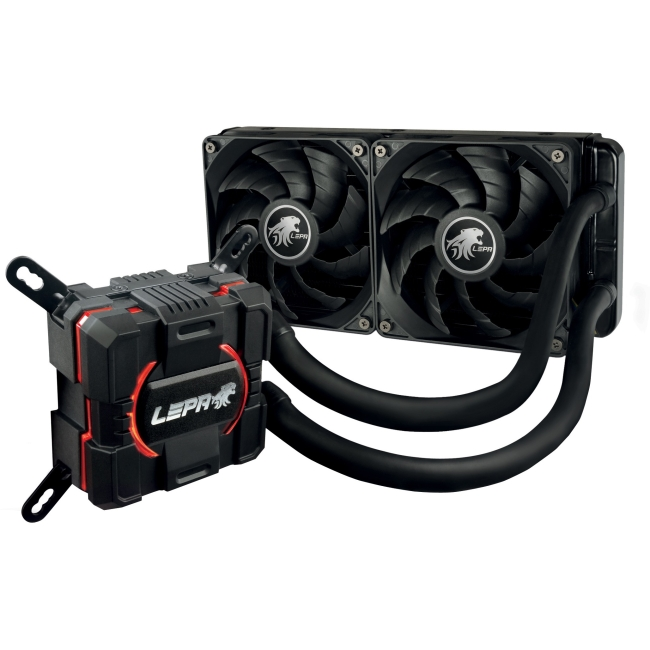 LEPA AquaChanger 240 All-In-One Liquid CPU Cooler