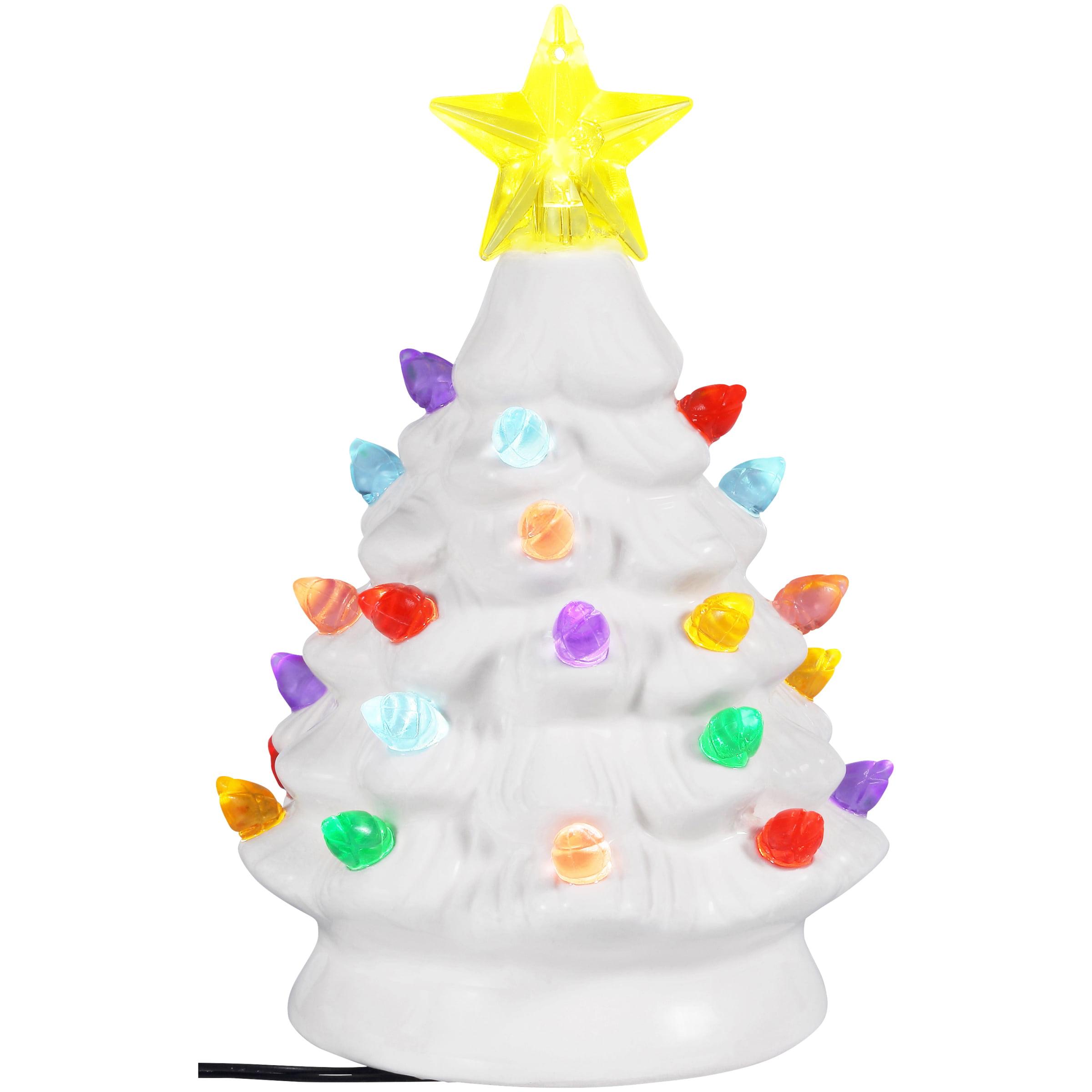 Holiday Time Mr. Christmas White Nostalgic Tree with ...