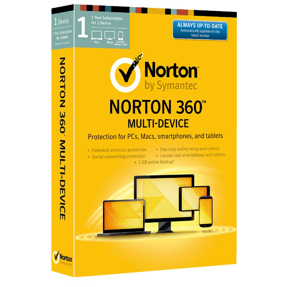 Refurbished Symantec Norton 360 Multi-Device Protection