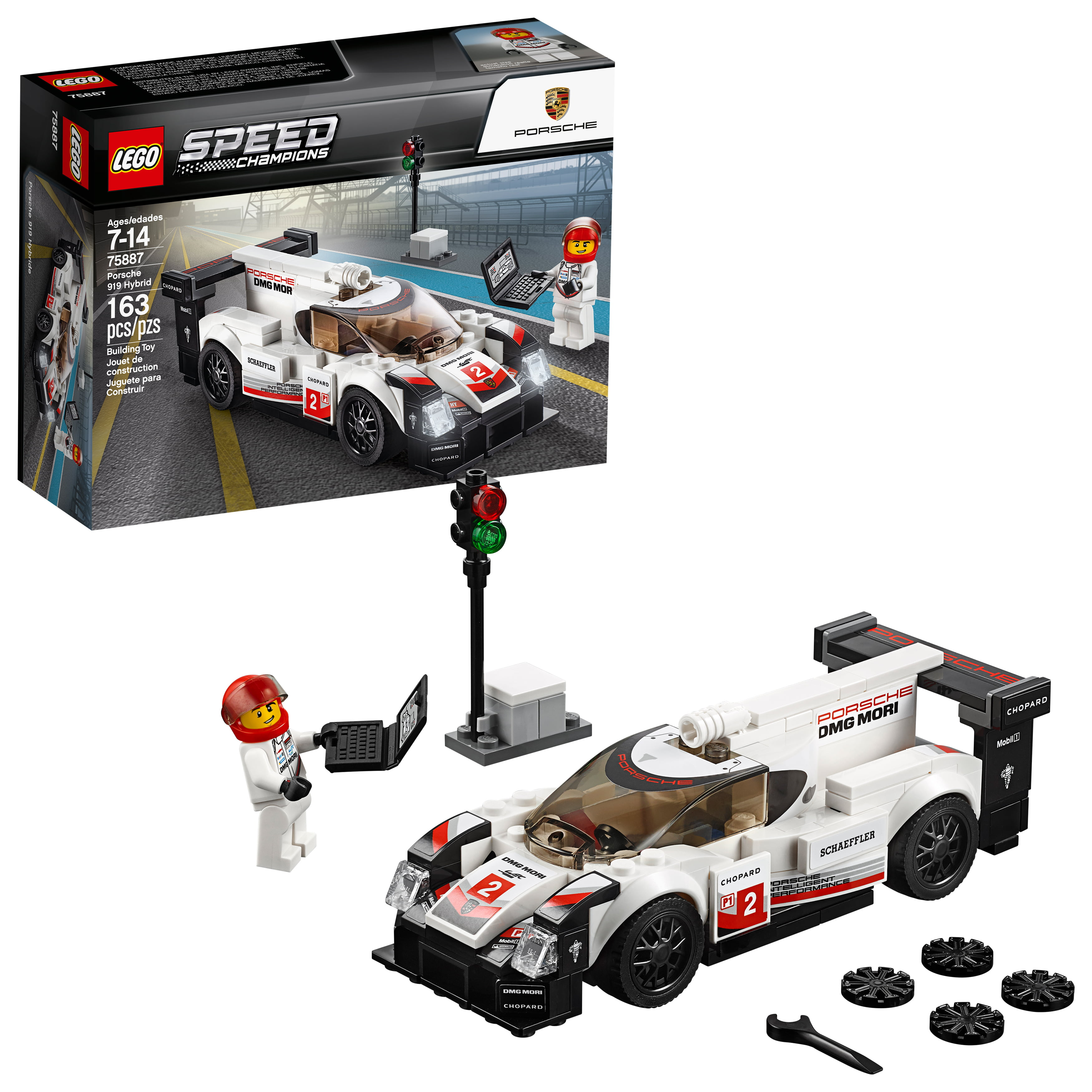 LEGO Speed Champions Porsche 919 Hybrid 75887 (163 Pieces)