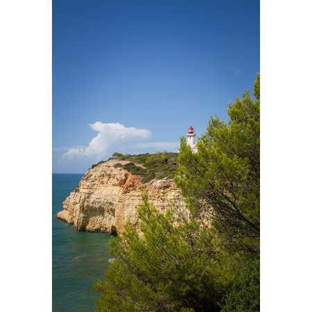 LAMINATED POSTER Portugal Lighthouse Atlantic Algarve Sea Coast Poster Print 11 x 17