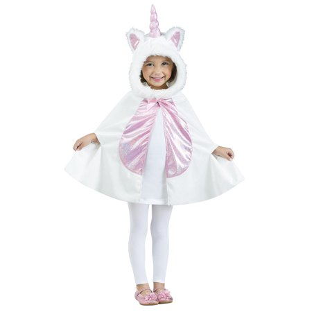 Toddler Unicorn Cape Costume by FunWorld 111721 (Unicorn Costume Girls)