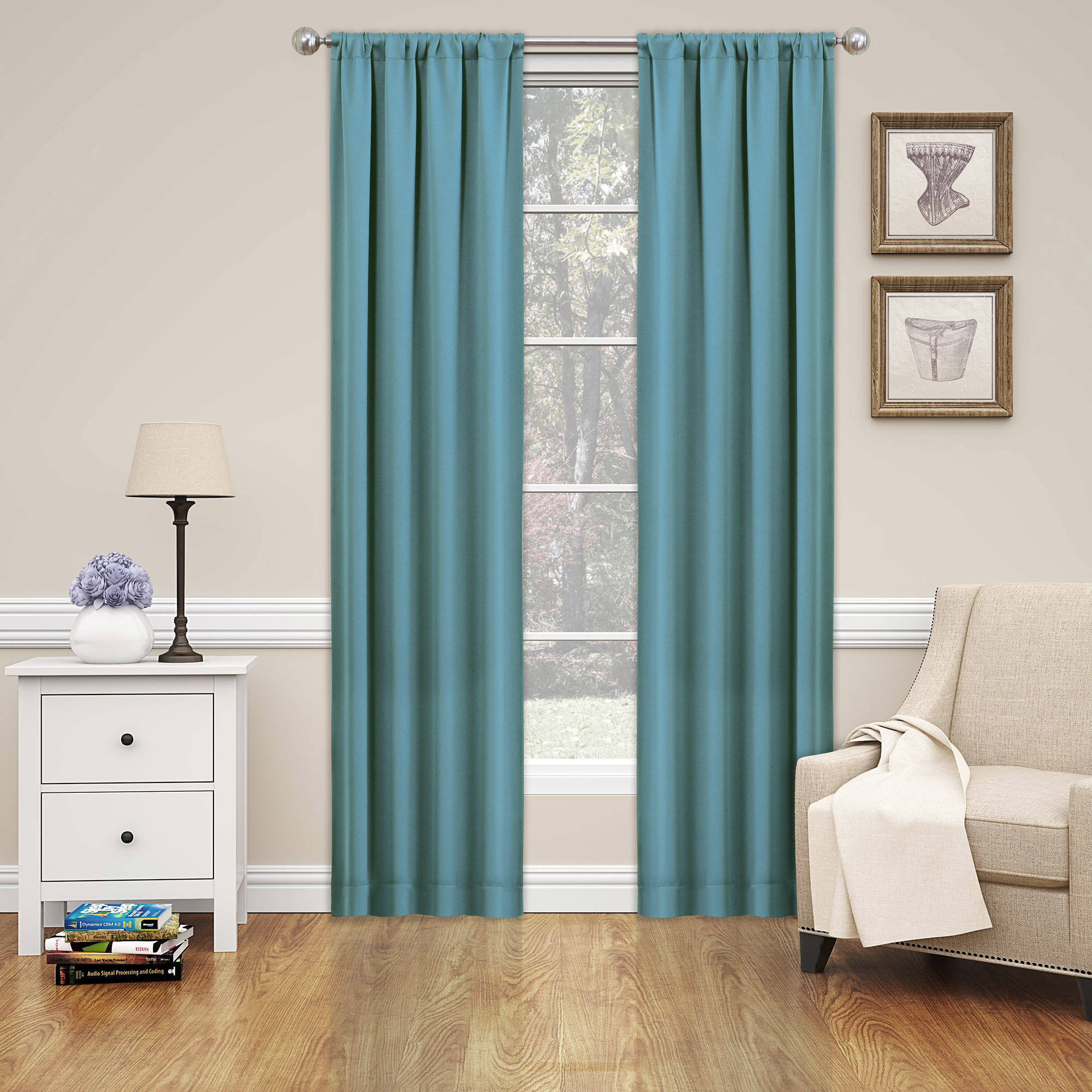 Eclipse Phoenix Blackout Window Curtain Panel Pair