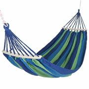 Canvas Hanging Hammock Chair Swing Seat Rope Bed Outdoor Indoor Garden Seat Campimg Travel Swing Chair