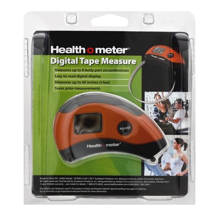 Health O Meter Digital Tape Measure, 1.0 CT
