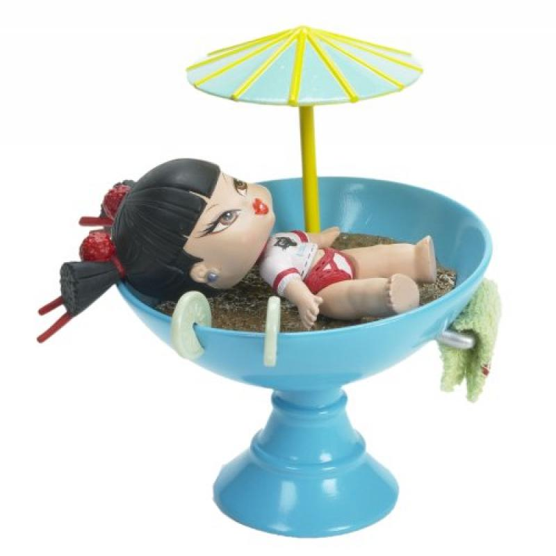 Bratz Itsy Bitsy Jade's Sip N Spa Doll by
