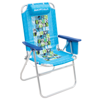 Margaritaville Big Shot Beach Chair, Turquoise, Adjustable Lounge Chair