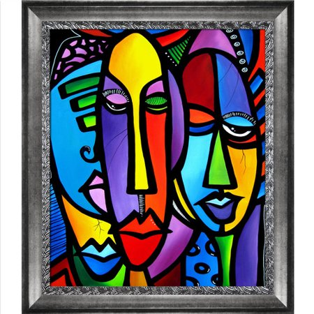 Tori Home 'Cranium' by Tom Fedro Framed Print Painting