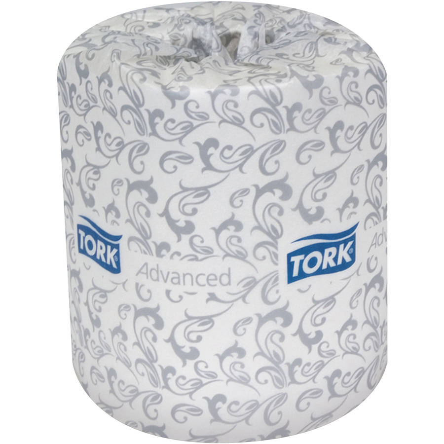 Tork Advanced White 2-Ply Jumbo Roll Toilet Tissue, 500 sheets, 96 rolls