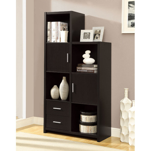 Monarch Hollow-Core Left or Right Facing Storage Unit - Cappuccino