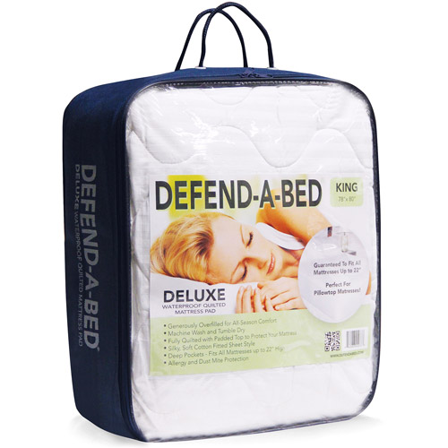 Modern Sleep Defend-A-Bed Deluxe Waterproof Mattress Protector, Multiple Sizes by Classic Brands