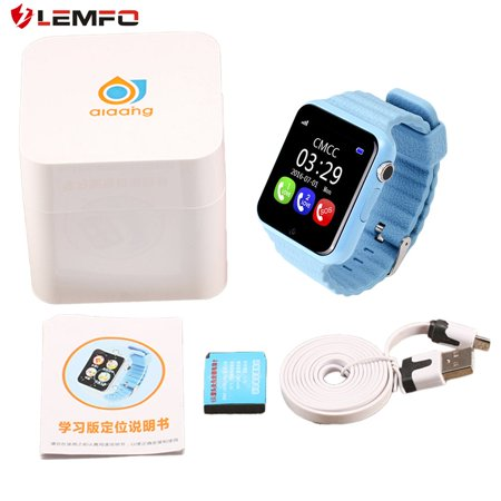 High Quality LEMFO V7K Children Smart Watch Security Safety Monitor Anti