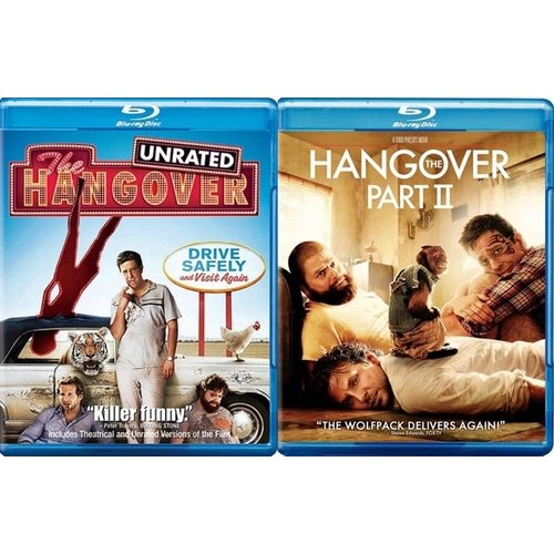 The Hangover / The Hangover 2 (Blu-ray) (Widescreen)