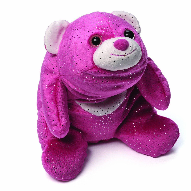 "Snuffles Glitter Pink 8"" Teddy Bears by GUND (4044584) by Gund"