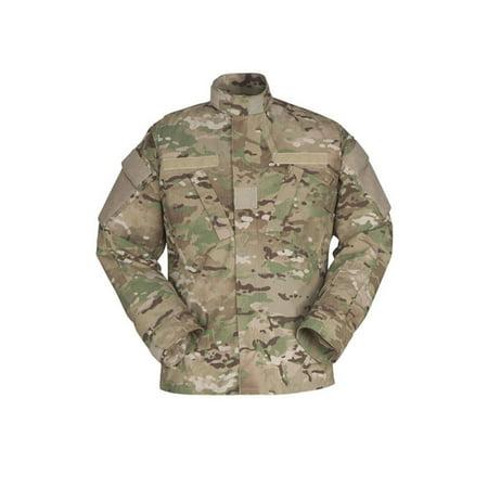 50% Nylon / 50% Cotton Ripstop Acu Coat For Military NEW Ripstop Nylon Shell