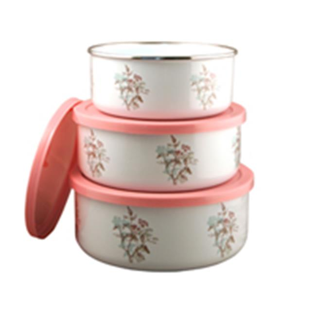Corelle Twilight Grove 3 Piece Storage Bowl Set