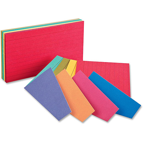 Esselte Oxford Extreme Index Cards