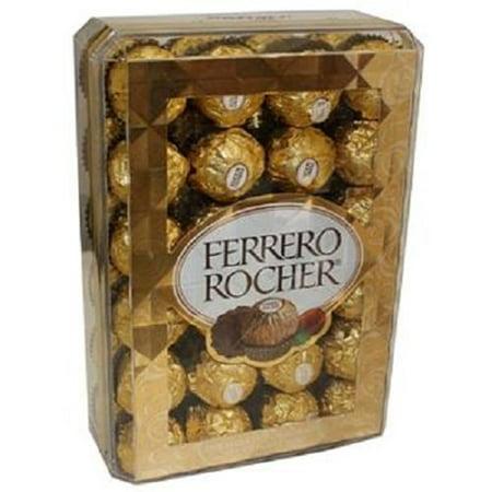 - Ferrero Rocher Hazelnut Chocolates, 48 Count