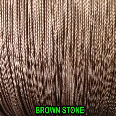 10 Yards :1.8 MM BROWNSTONE  LIFT CORD for Blinds, Roman Shades and - Roman Blind Cord