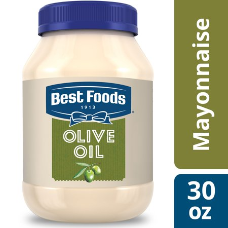 Best Foods with Olive Oil Mayonnaise Dressing, 30 (Best Foods Organic Mayonnaise Ingredients)