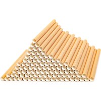 """Juvale 100 Pack 6"""" Mason Bees Nesting Cardboard Tubes for Refills and Inserts for Bee Houses, Condos, Hotels, and Nests"""