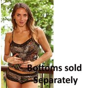 Weber Camo Camisole Mossy Oak Breakup With Black Lace Xlarge